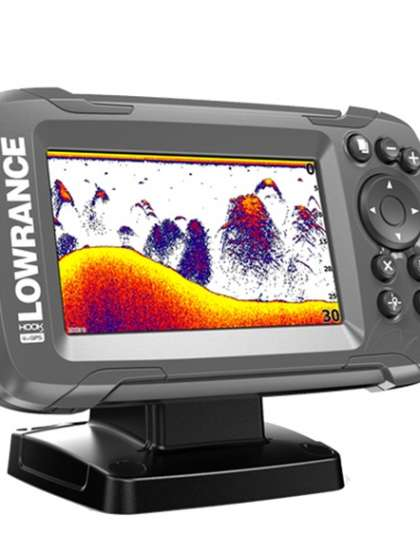 Lowrance HOOK2-4x with Bullet Skimmer Transducer