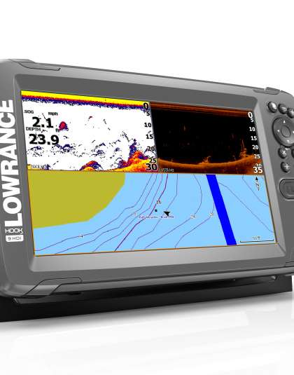 Lowrance HOOK2-9 with SplitShot Transducer